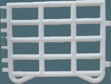 Barrière de prairie 2.2 mètres - Blanc