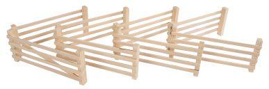 Barriere en bois 1:24