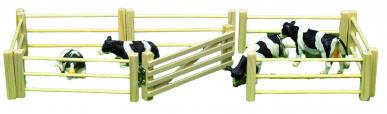 6 barrières en bois avec ouvrant KIDS GLOBE 610667 1:32