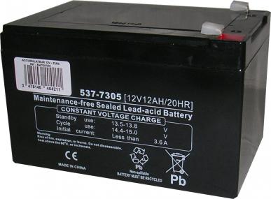 Batterie 12V - 12a (étanche)
