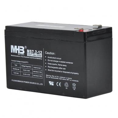 Batterie 12V 7.2Ah pour S100, S200, S400