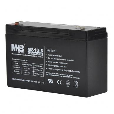Batterie 6V 10Ah pour S40