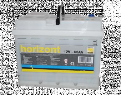 Batterie acide, rechargeable, 12V / 55Ah, sans acide, à l'unité