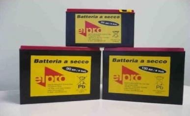 Batterie sèche 9v