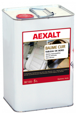 Nettoyant intérieur cuir auto BAUME CUIR Bidon 5 L