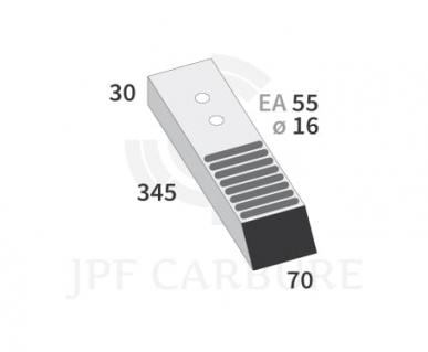 Bec de décompacteur pour Askel 245x70x30 EA55