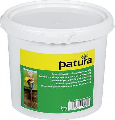 Bentonite, mélange spécial pour prise de terre, le seau de 6 kg