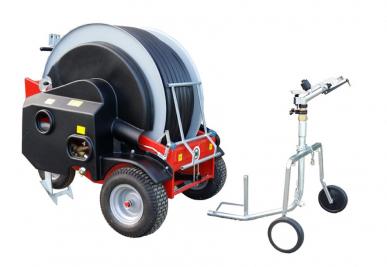 Chariot d'irrigation 120m tuyau PE LEADER 40