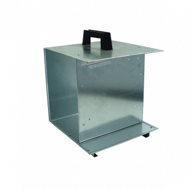 Boîte métallique avec poignée