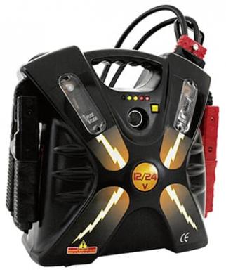 Booster de démarrage professionnel 12-24V 24Ah 1900/5000A