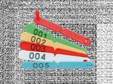 Boucle tip tag 001 à 100