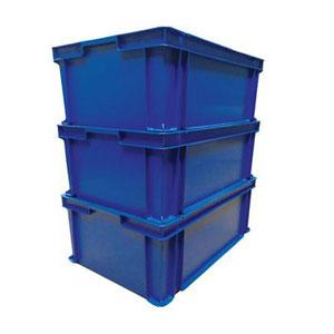 Boite superposable détectable (Detectable métal et rayons X) Bleu