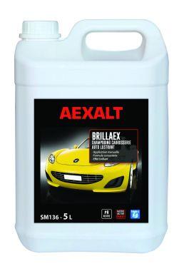 Shampooing carrosserie auto lustrant BRILLAEX Bidon 5 L