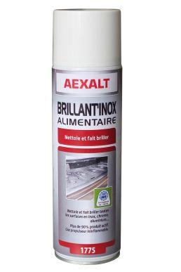 Nettoyant inox chrome aluminium BRILLANTINOX Aérosol 650 mL