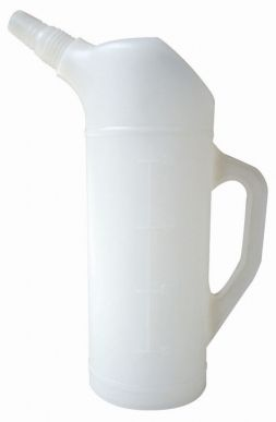 Broc plastique gradué