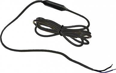 Câble antigel chauffant avec thermostat,24 V / 20 W, L = 2 m