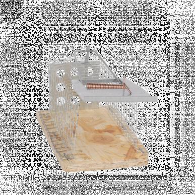 Cage à souris, 1 entrée, 230x50x50mm
