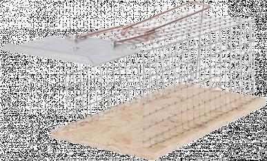 Cage à souris, 1 entrée, 270x90x90mm