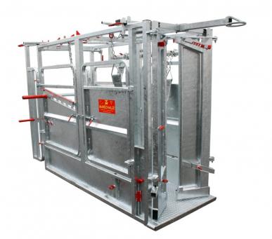 Cage multifonction PM 2400 Galva avec porte PM 83