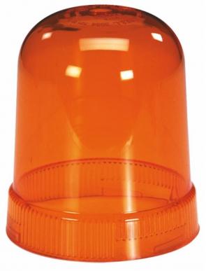 Calotte orange pour gyrophare série Pulsar