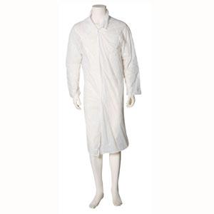 Blouse visiteur blanches polyéthylène 100 pièces