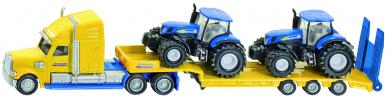 Camion avec tracteurs New Holland Siku 1:87
