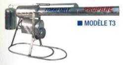 Canon effaroucheur à gaz canon à gaz T3 mécanique (avec robinet détendeur )