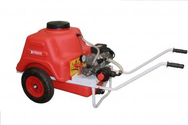 Pulvérisateur Dl325 sur chariot Mistral 150L à moteur électrique 1.5kW