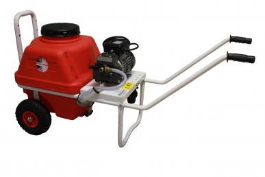 Pulvérisateur Dl218 sur brouette Vento 65L à moteur électrique 0.75kW