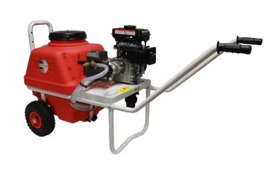 Pulvérisateur Dl218 sur chariot Vento 65L à moteur thermique 1.5kW