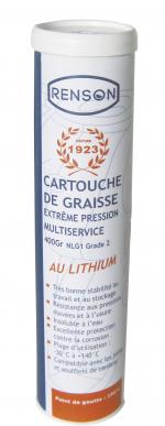 CARTOUCHE DE GRAISSE 400GR EP2