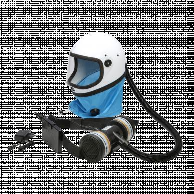 Casque De Protection Respiratoire K80S T8 avec une cartouche A2P3