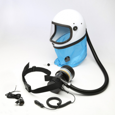 Casque de protection respiratoire K80S T9 avec une cartouche A2P3