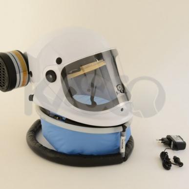 Casque de protection respiratoire PROF88-LI avec une cartouche A2P3
