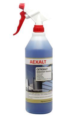 Dégraissant industriel polyvalent CETEXALT ORIGINAL Bidon 1 L + vapo