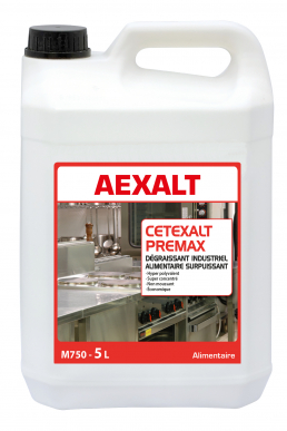 Dégraissant industriel alimentaire surpuissant CETEXALT PREMAX Bidon 5 L