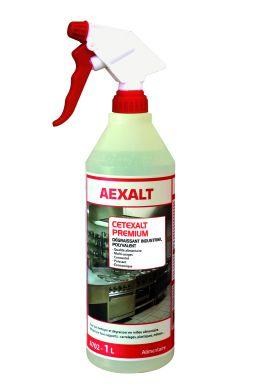 Dégraissant industriel alimentaire CETEXALT PREMIUM Bidon 1 L + vapo