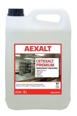 Dégraissant industriel alimentaire CETEXALT PREMIUM Bidon 5 L