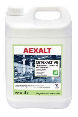 Dégraissant concentré multi-usages CETEXALT VG Bidon 5 L