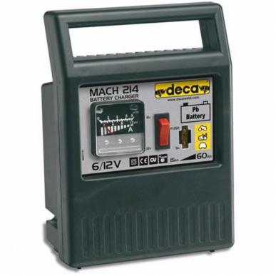 Chargeur de batterie 6/12 V 50 W Mach 214