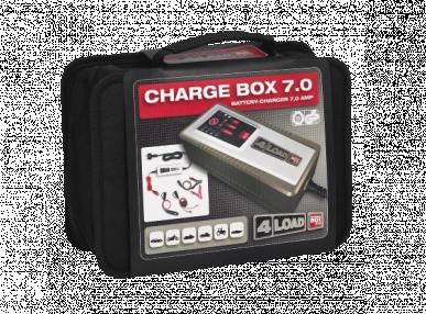 Chargeur de batterie digital Chargeur 7.0 12V jusqu'à 230 Ah