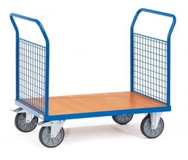 Chariot à 2 ridelles  Charge 500 kg