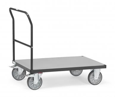 Chariot à dossier de poussée  Charge 500 ou 600 kg