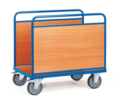 Chariot à ridelles  En bois