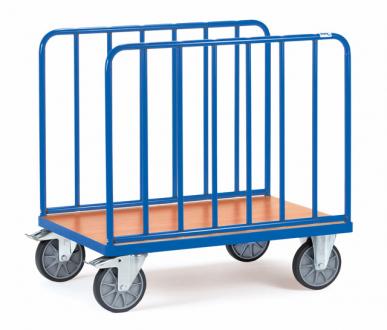 Chariot à ridelles latérales En tube