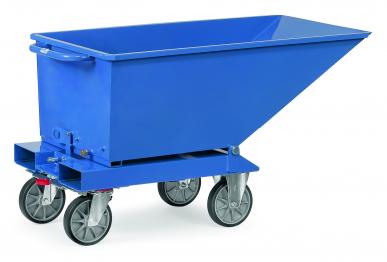 Chariot benne basculante  Bleu - 250L