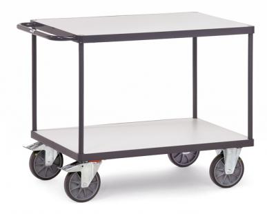 Chariot à plateaux  ESD - Charge 500/600 kg - 2 plateaux