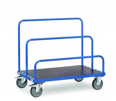 Chariot porte-panneaux  Charge 750 kg - Tubes cintrés