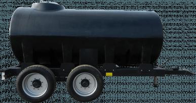 Châssis roulant avec cuve de transport engrais 10 000 L
