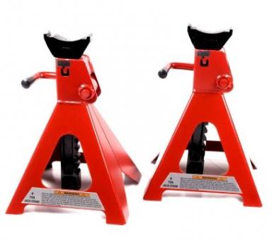 Chevalet, Jack Stand professionnel, 2 pièces pour voitures - 6T / 6000kg